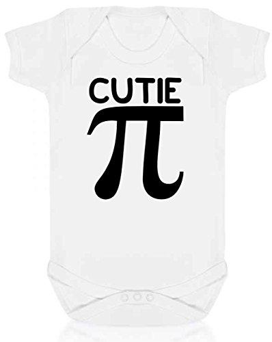 Bullshirt 's Baby 's 1st Fathers Day Strampler oder T-Shirt Cutie Pi