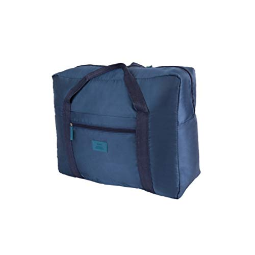 ise Seesack Leichte Aufbewahrung Gepäck Tasche wasserdichte Reiseveranstalter Taschen Handtasche Schultertasche für Reisen Sport Gym (Color : Navy) ()