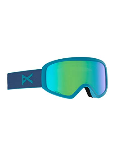 Anon Damen Insight Sonar with Spare Snowboardbrille, Blue Green
