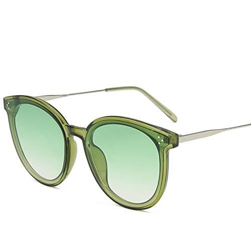 Shiduoli Bonbonfarbene Sonnenbrillen für Herren Damen Street Fashion Glas Radfahren Laufen Fahren Angeln (Color : E)