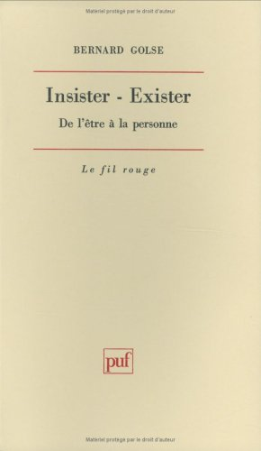 Insister-exister