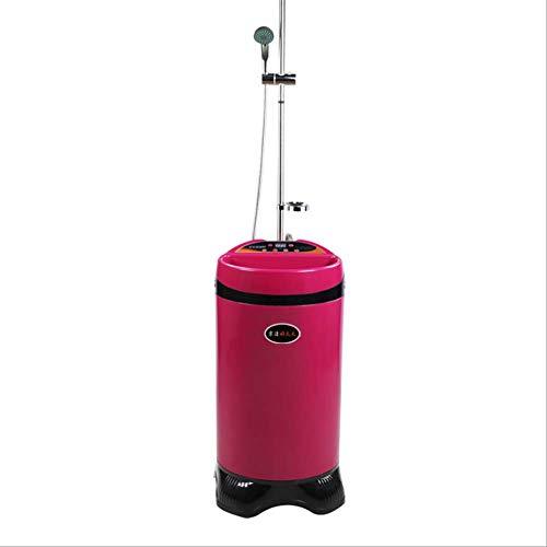 ZNDDB Tragbare Dusche - 80L / 90L / 100L Konstanttemperatur-Wasserspeicher, Heiße Dusche, Haushaltsart Aus Rostfreiem Stahl, Intelligente Verabredung, Abnehmbar, 220V / 2000W,100L