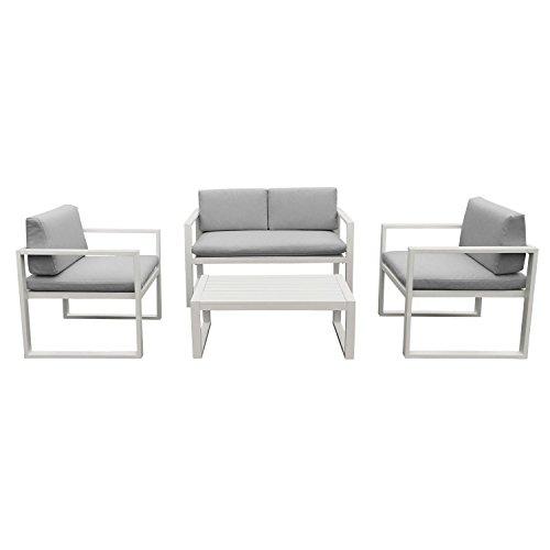 salon jardin aluminium. Black Bedroom Furniture Sets. Home Design Ideas