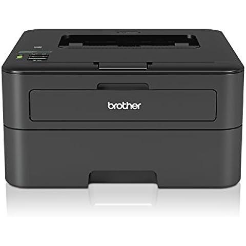 Brother HLL2340DW - Impresora láser monocromo (Wi-Fi, 26 ppm, doble cara), color negro