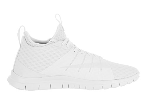 Nike Free Hypervenom 2, Chaussures de Sport Homme Blanc Cassé - Blanco (Blanco (White/White-Black))