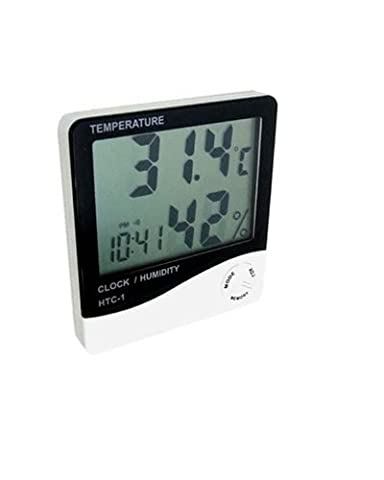Generic Digital LCD Display Temperature and Humidity Meter Thermometer Hygrometer
