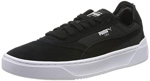 Puma Cali-0 Summer, Zapatillas Unisex Adulto, Negro Black White, 42.5 EU