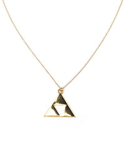 The Legend of Zelda Necklace Triforce Gold