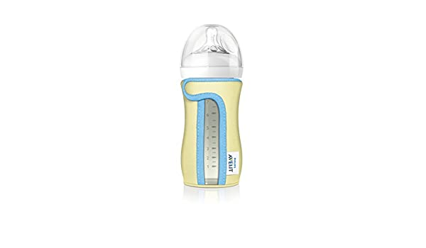 3 Pack Philips Avent Natural Protects /& Insulates Sleeve for 8 Oz Glass Bottle