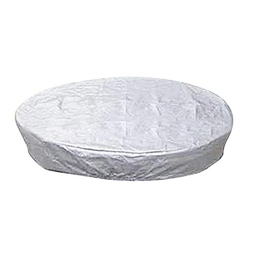 jinclonder Outdoor SPA Hot Tub Cover Swimming Pool Dust Round Cover,100 UV & Weather Resistant Round Spa Cover for Protects Your Hot Tub from Dirt, Dust, Rain, Hail, etc