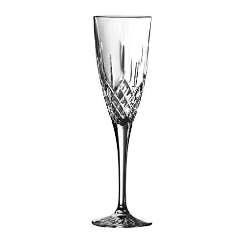 Earlswood von Royal Doulton Flöte, transparent, 140ml, 6Stück (Stemware Cut Glas)
