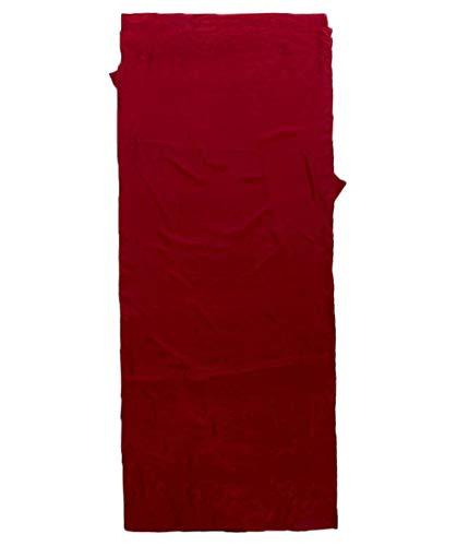 Meru Seiden-Inlett/Hüttenschlafsack Mumienform rot (500) 000
