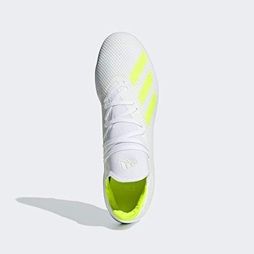 adidas X 18.3 Fg, Scarpe da Calcetto Indoor Uomo, Multicolore Amasol/Ftwbla 000, 41 1/3 EU