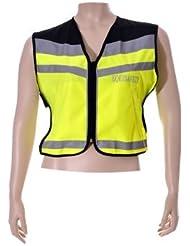 Equisafety-Chaleco PPWS de aire ajustable amarillo Giallo - Giallo flash/nero Talla:XL