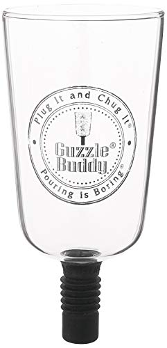 Lustig, Urkomisch Bier (Guzzle Buddy Beer Bottle Glass, It Turns Your Bottle Into Your Glass)