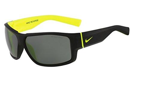 Kinder Sonnenbrille Nike Vision Reverse matte black/volt