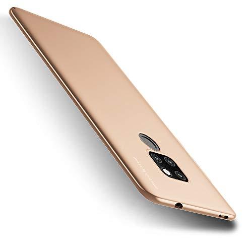 X-level Huawei Mate 20 Hülle, [Kinght Serie] Hart Handlich Premium PC Material Gutes Gefühl Handyhülle Schutzhülle für Huawei Mate 20 Case Cover - Gold Key-mate Light