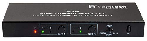 Imagen de Switch Hdmi 4K Feintech por menos de 80 euros.