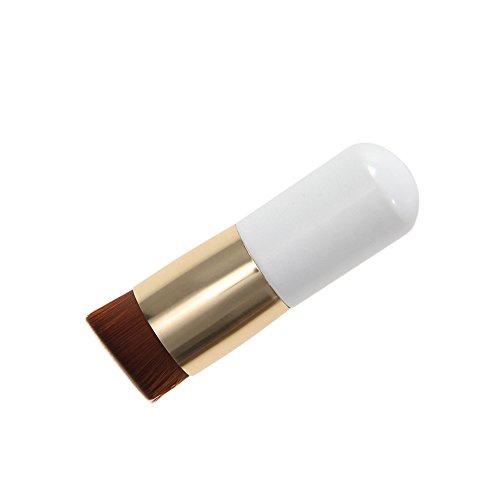 Pinceau de Maquillage Incliné pour Fond de Teint Fard à Joues Poudre