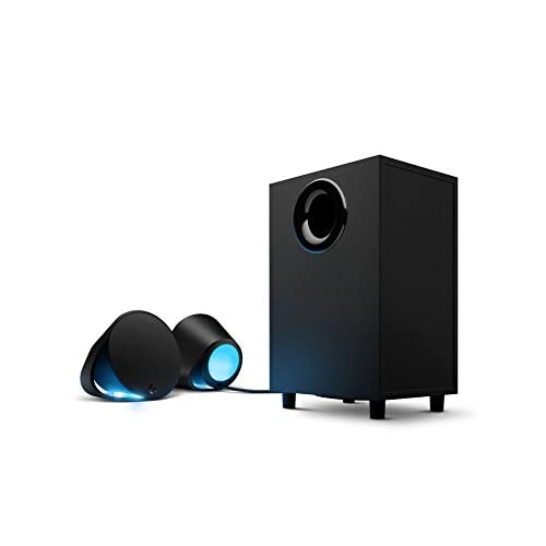 31ZJKmS0zpL. SS500  - Logitech G560 PC Gaming Ultra Surround Sound Speakers with Game Driven RGB Lighting, UK Plug
