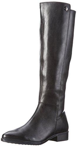 Caprice Damen 25515 Langschaft Stiefel, Schwarz (Black 001), 38 EU (Glattleder-stiefel)