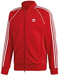 adidas SST TT Sweatshirt, Hombre, Power Red, S