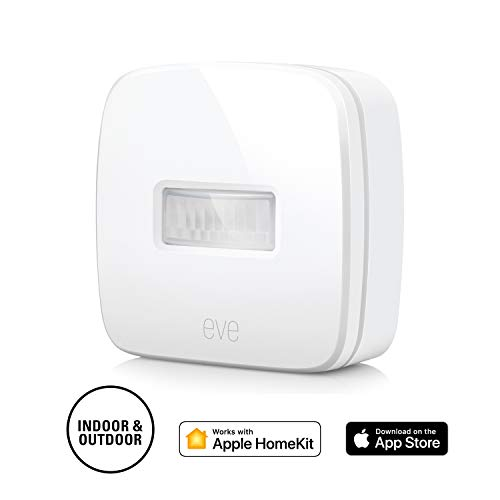 Eve Motion - Sensore di movimento wireless, impermeabilità IPX 3, Bluetooth Low Energy, non richiede bridge, bianco (Apple HomeKit)