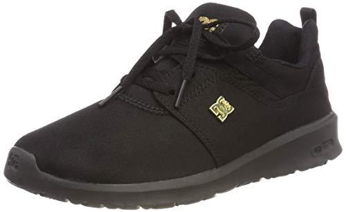 DC Shoes Damen Heathrow TX SE Skateboardschuhe, Schwarz Black Bb2, 39 EU