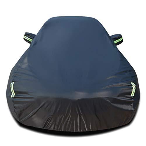 Autoabdeckung Auto Abdeckplane Kompatibel mit Chevrolet Camaro wasserdichte Autoabdeckung Allwetter Staubdicht Und Regenfest Indoor Outdoor-Schutz Auto (Color : Black)