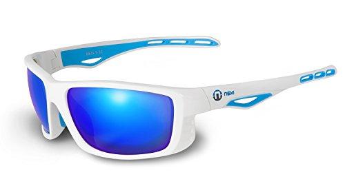 HONEY Polarisierte Wanderer Sonnenbrille - Full UV400 Protection - erhältlich in 4 Farben - Ideal zum Fahren - Unisex ( Farbe : 3 ) Q0o2mNq