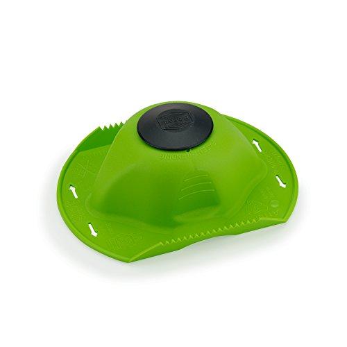 Börner original Sicherheitsfruchthalter für Hobel und Reibe (grün/schwarz - Borner Klingen