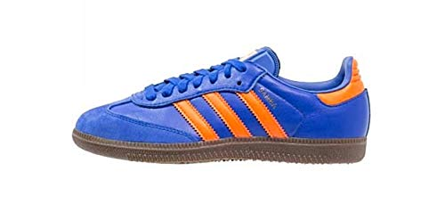 adidas Jungen Samba Og Fitnessschuhe Blau (Azufue/Naranj / Gum5 000) 38 EU