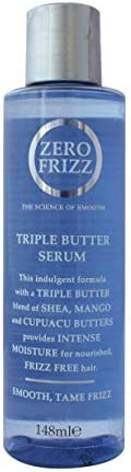 Zero Frizz Triple Butter Hair Serum, 148 ml