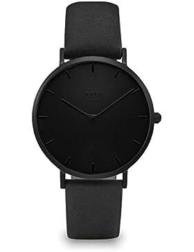 XXIV SOHO Damen Armbanduhr Leder Full Black