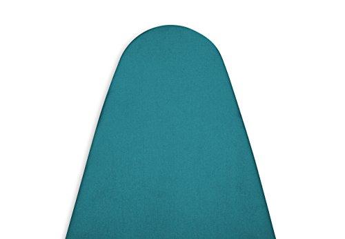 Encasa Homes Luxus-Bügelbrett-Abdeckung Extra Dicke Auflage, groß (Passt Board Länge 119-124cm und Breite 36-40cms) Azul Blue