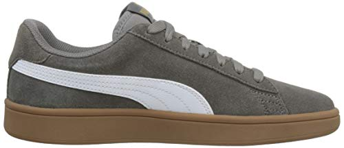 5915261182 Puma Smash V2, Scarpe per Sport Outdoor Unisex-Adulto, Grigio (Charcoal  Gray Team Gold White-Gum), 47 EU