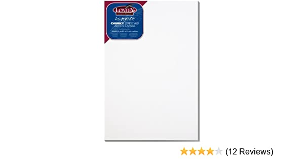Carton of 5 40 x 20 LOXLEY Ashgate Chunky Stretched Canvas