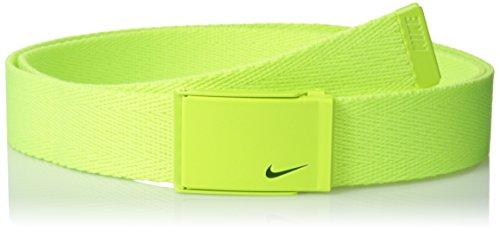 516d1fe8e689de Nike 13095306 Golf Women S Tech Essentials Single Web Belt Volt One Size-  Price in India