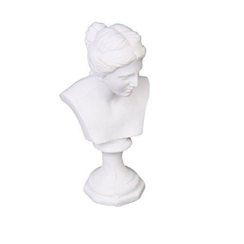 SODIALR Escultura busto Venus Estatua resina