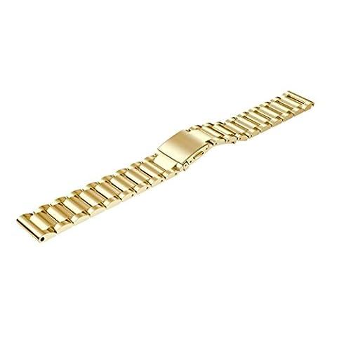 Bracelet, Happytop en acier inoxydable Bracelet Watch Band Sangle de poignet de rechange pour n