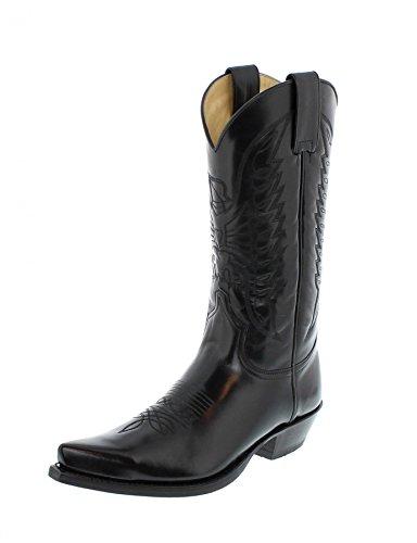 Sendra Boots 2073, Stivali western unisex adulto Nero (Florentic Negro)