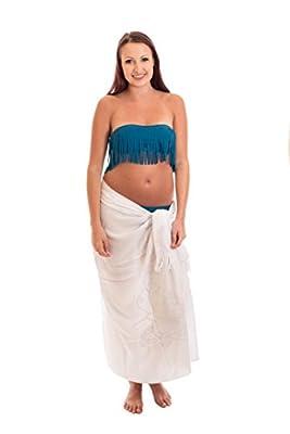 Ca 48 Modelle Sarong Pareo Wickelrock Strandtuch Handtuch Lunghi Dhoti ca. 170cm x 110cm mit Toller Stickerei Handarbeit viele Modelle