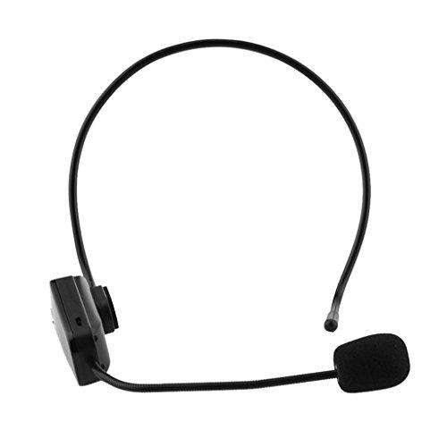 MagiDeal FM Microphone Sans Fil Casque Radio Mic Pour Haut-Parleur Avec Câble USB
