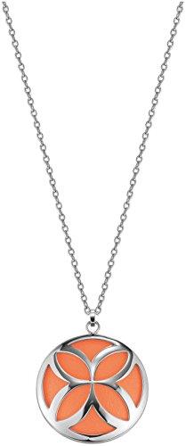 Esprit Damen-Halsband Edelstahl orange ESNL12456B800