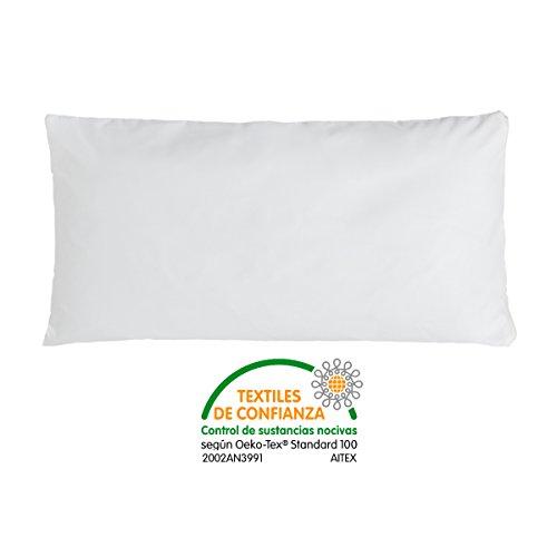 Bonitex - Funda de almohada Respira 135cm: transpirable, impermeable, antiácaros tejido 100% algodón natural para viscoelástica o latex.
