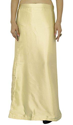 Bollywood Fertige Inskirt Futter Für Sari Satinseide Petticoat