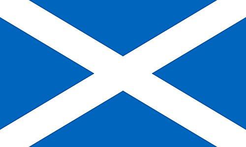 Durabol Flagge Schottland Flag 150 x 90 cm Satin Doppelte Nähte
