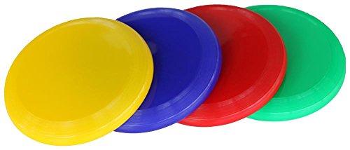 Boje Sport 4er Set Frisbee Soft - 24 cm - 4 Farben - 777 bis 780-747 bis 750