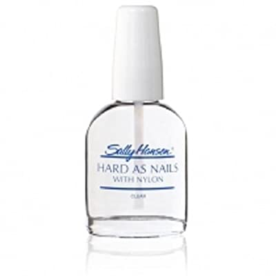 Sally Hansen Hard As Nails With Nylon - Base Coat - Clear