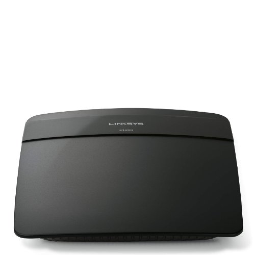 Linksys e2500-np Wi-Fi Wireless Dual-Band Router to Double Bandwidth and Maximize Usage For Streaming And Gaming (E2500) N300 7.4 x 6 x 1.2 inches ; 8.3 ounces Schwarz